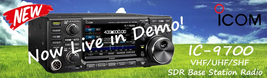 Icom IC-9700 now live in demo!