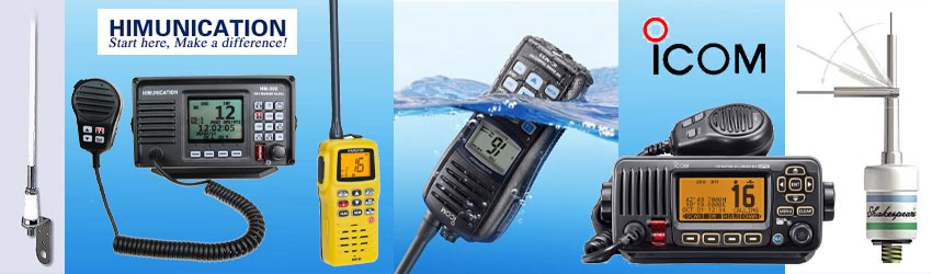Our range with marine equipment, antennas and accessories