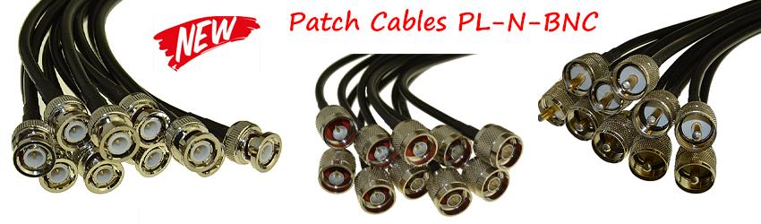 Patch Cables PL-N-BNC