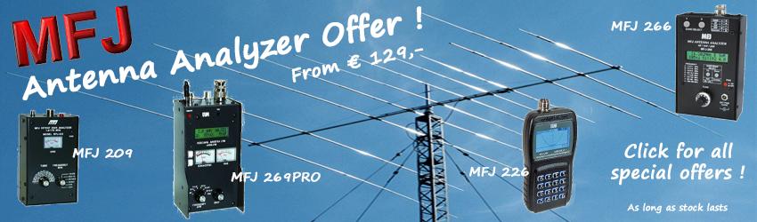 MFJ Antenna Analyzer Offer!