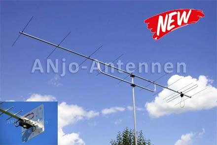 Nieuw in ons programma: ANjo VHF/UHF/SHF Antennes