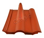 "Roofing tile ""Frankfurter"" red"