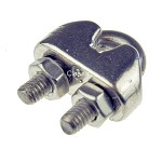 Cable clamp SS 3-4 mm