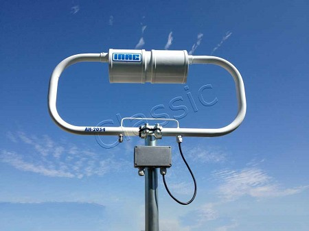 INAC AH-2054 Magnetic Loop Antenna 6-15 m, 21-50 MHz