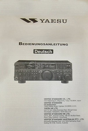Manual Yaesu FT-2800E | German