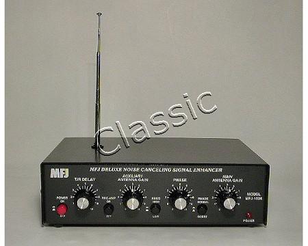 MFJ 1026   Noise canceller/enhancer incl  tel  antenna and