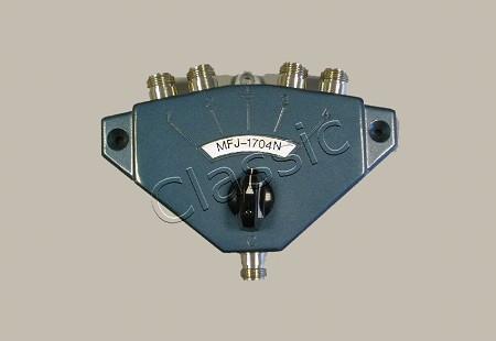 MFJ 1704N | Coax switch 4-way N-type female