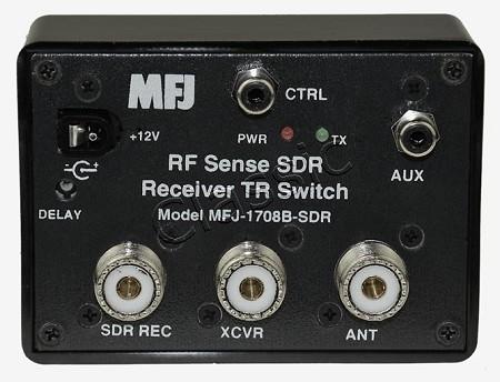 MFJ 1708B SDR RF sense SDR Transmit/Receive Antenna Switch