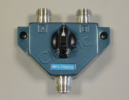 MFJ 1702CN Coax switch 2-way N-female