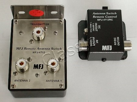 MFJ 4712 | Remote two-position antenna switch
