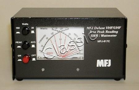 MFJ 817C | SWR/power cross-needle meter | 144-148 + 430-440