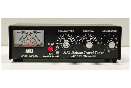 MFJ 904 | Travel Tuner 3,5-30 MHz max  150 W SSB | SWR/Power Meter