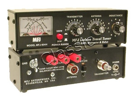 MFJ 904H   Travel Tuner 3,5-30 MHz max  150 W SSB   SWR