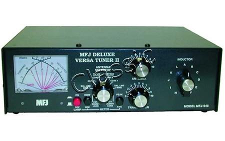 MFJ 948   Antenna Tuner 1 8-30 MHz   Max 300W SSB   Cross