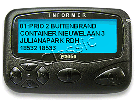P2000 Pager Informer Pro