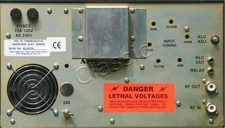 Al Hachter on Ameritron 811 Amplifier