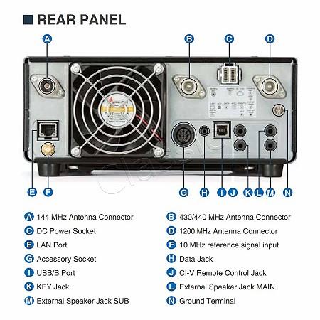 ICOM IC-9700 VHF / UHF / SHF All Mode SDR Base Station Radio