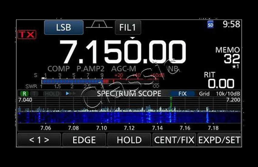 ICOM IC-7300 HF 50 MHz 70 MHz All-mode SDR Base Transceiver, 100 Watt