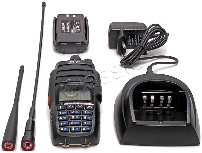 TYT TH-UV8000D Cheap Dualband 2 m/70 cm Handheld  Output 10 W!